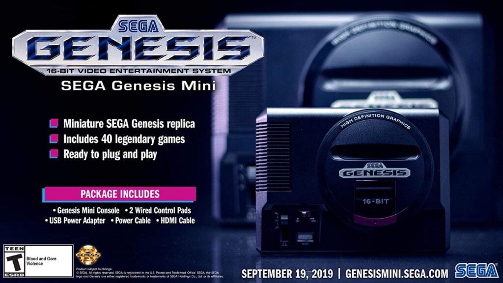 Image of article 'The Sega Genesis Mini Is The Perfect Holiday Gift At Just $49 This Black Friday'