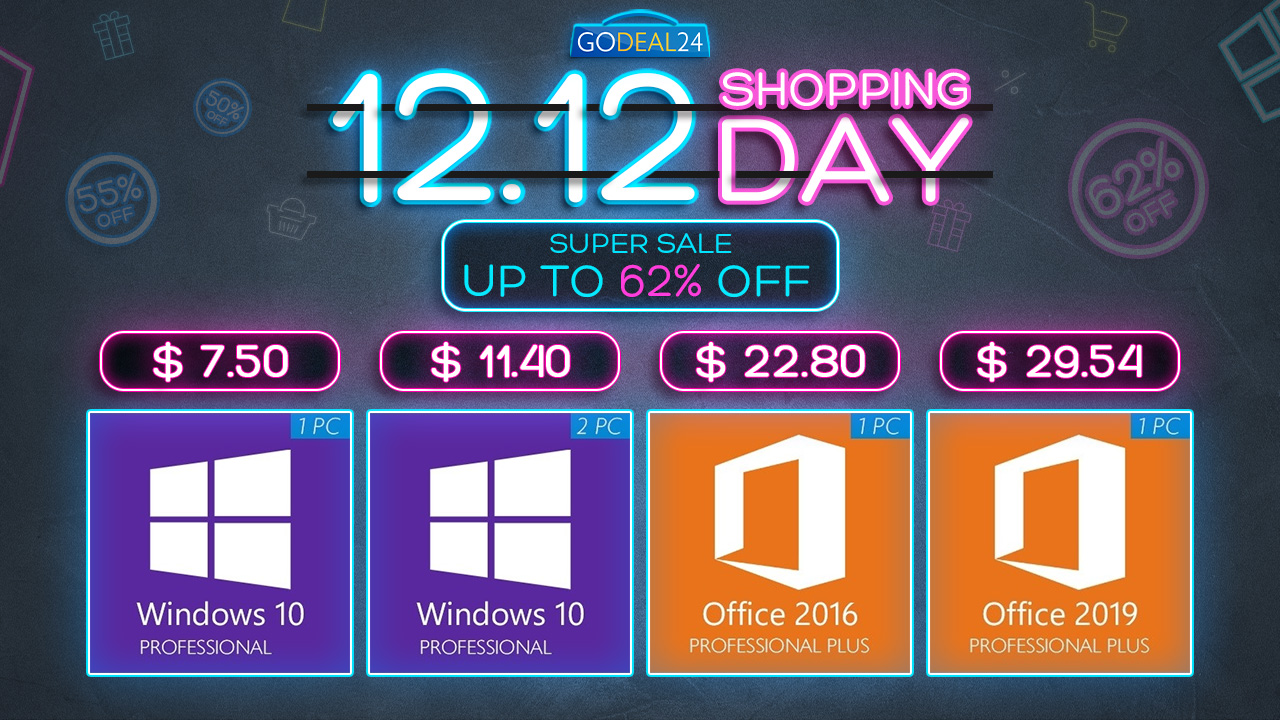 Image of article 'Big 12.12 Sale Is Now Live: Get Windows 10 For All-Time Low Price Of Just $7, Microsoft Office For Up To 88% Off'