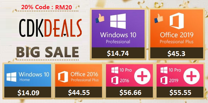 Image of article 'Insane Deal: Get Genuine Windows 10 Pro For Just $15, Office 2019 For $32, More'
