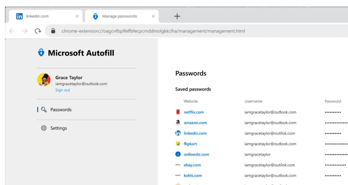 Microsoft Launches Official Autofill Password Manager For iOS, Android, Mac, Windows