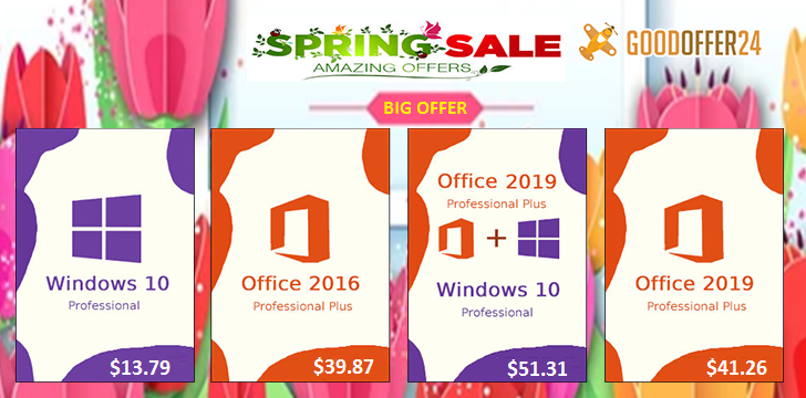 Deal Time: Get Windows 10 Genuine License For Just , Office 2019 For , More